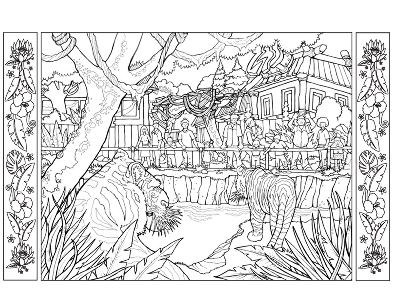 zoo tycoon 2 zoo tycoon tycoon city new york rollercoaster tycoon 3    Zoo Colouring Pages